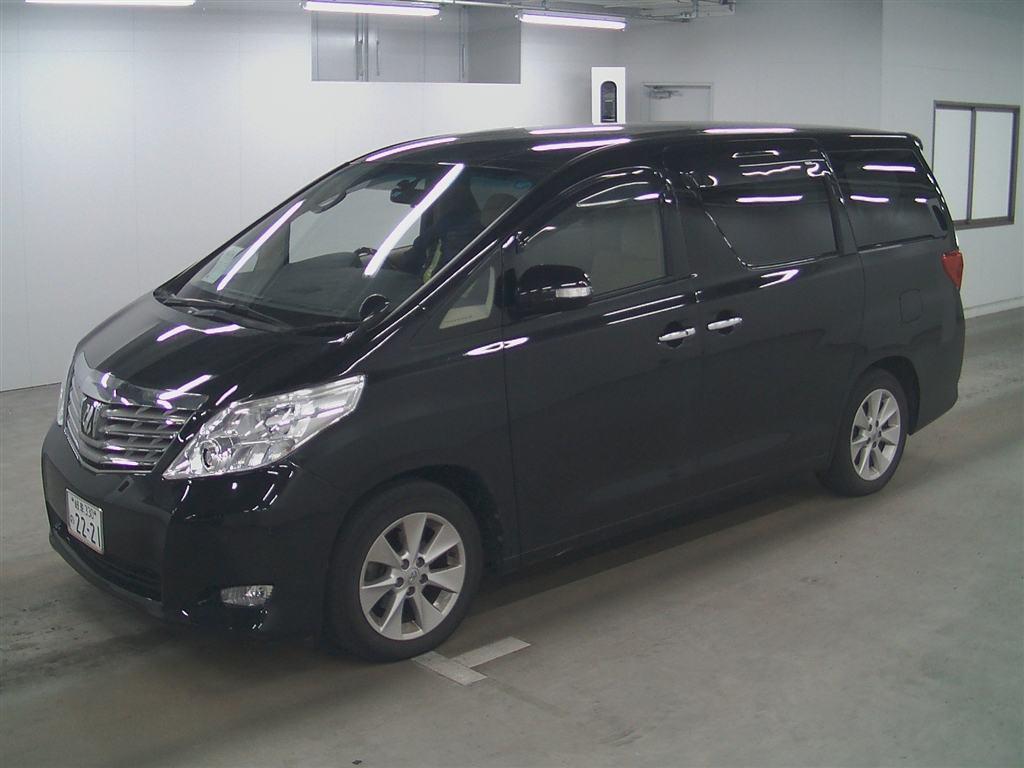 2011 Toyota Alphard Welcab Sloper