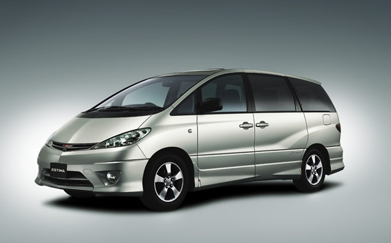 Toyota Estima Tarago Japanese import front