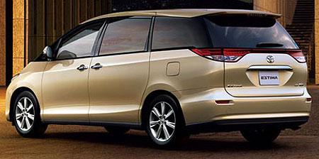 Toyota Estima Tarago Japanese import rear
