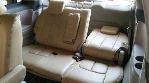 Toyota Estima rear seat recline