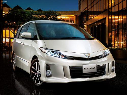 Toyota Estima Tarago R50 silver