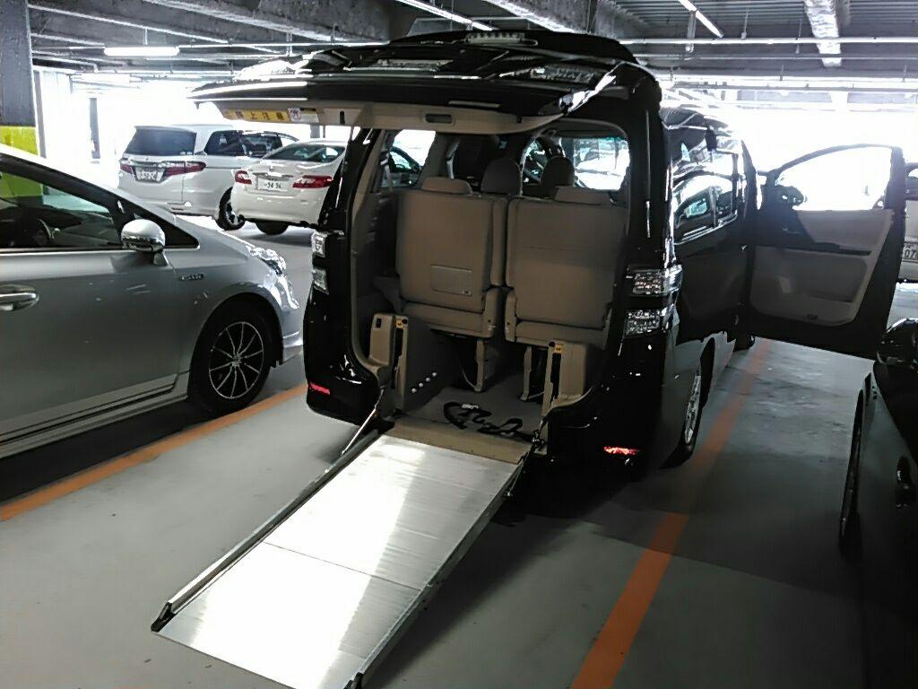 2010 Toyota Vellfire SLOPER WELCAB 4