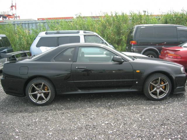 1999 Nissan Skyline R34 GTR VSpec side image