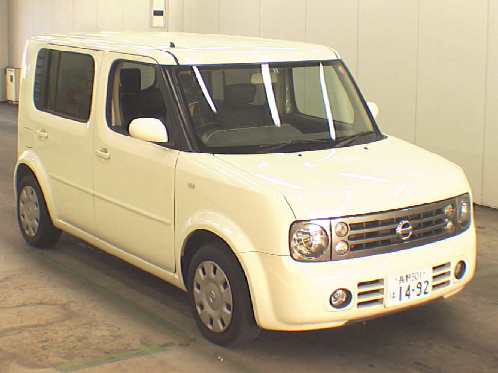 2005 Nissan Cube Cubic 1.5L 7-seater 2WD front