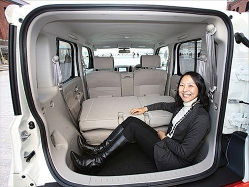 Nissan Cube Z11 rear space