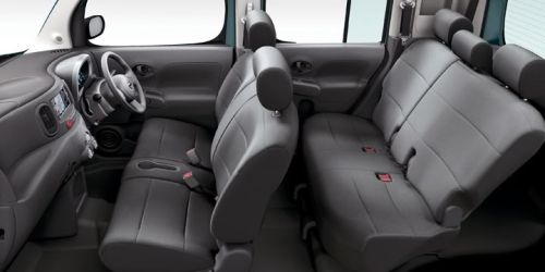Nissan Cube Z11 seat configuration grey
