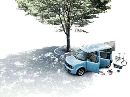 Nissan Cube Z11 practical