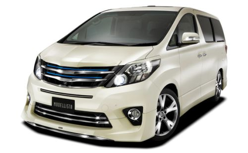 Toyota Alphard welcab Modelista white