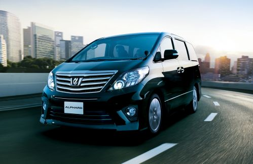 Toyota Alphard Welcab black