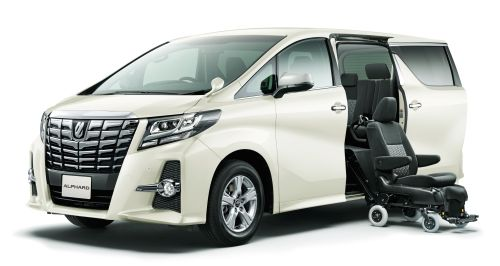 Toyota Alphard welcab side lift wheelchair