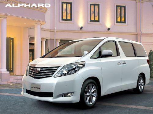 Toyota Alphard welcab front