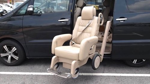 Toyota Alphard Welcab wheelchair