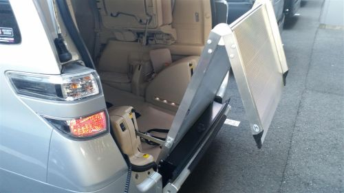 Toyota Alphard welcab sloper ramp