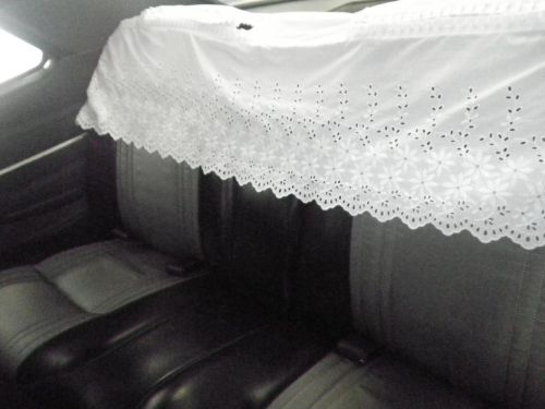 1970 Toyota Crown MS51 Coupe rear seat