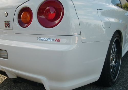 1999 Nissan Skyline R34 GTR V Spec N1 rear