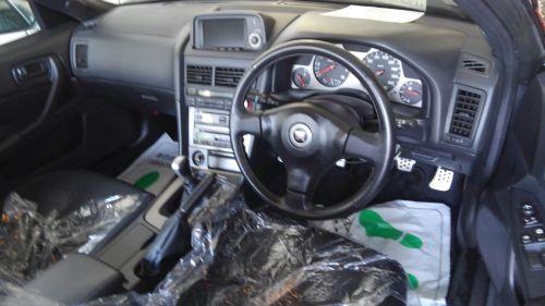2000 Nissan Skyline R34 GTR V Spec 2 silver interior