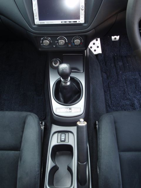 2004 Mitsubishi Lancer EVO 8 MR shift knob