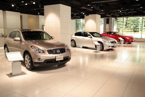 2009 Nissan Skyline Crossover showroom