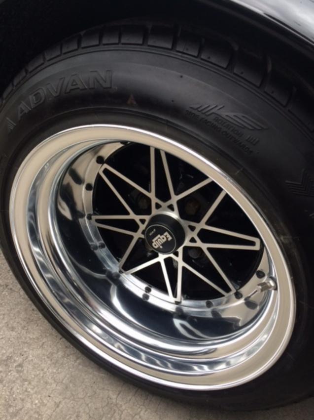 1972 Nissan Skyline KGC10 2000GT coupe GTR replica wheel