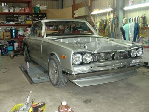 1972 Nissan Skyline KGC10 2000GT coupe GTR replica restoration