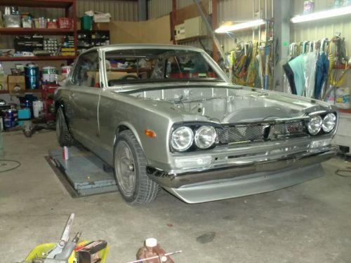 1972 Nissan Skyline KGC10 2000GT coupe GTR replica restoration