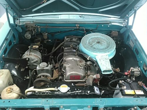 1970 Toyota Crown MS51 Coupe engine