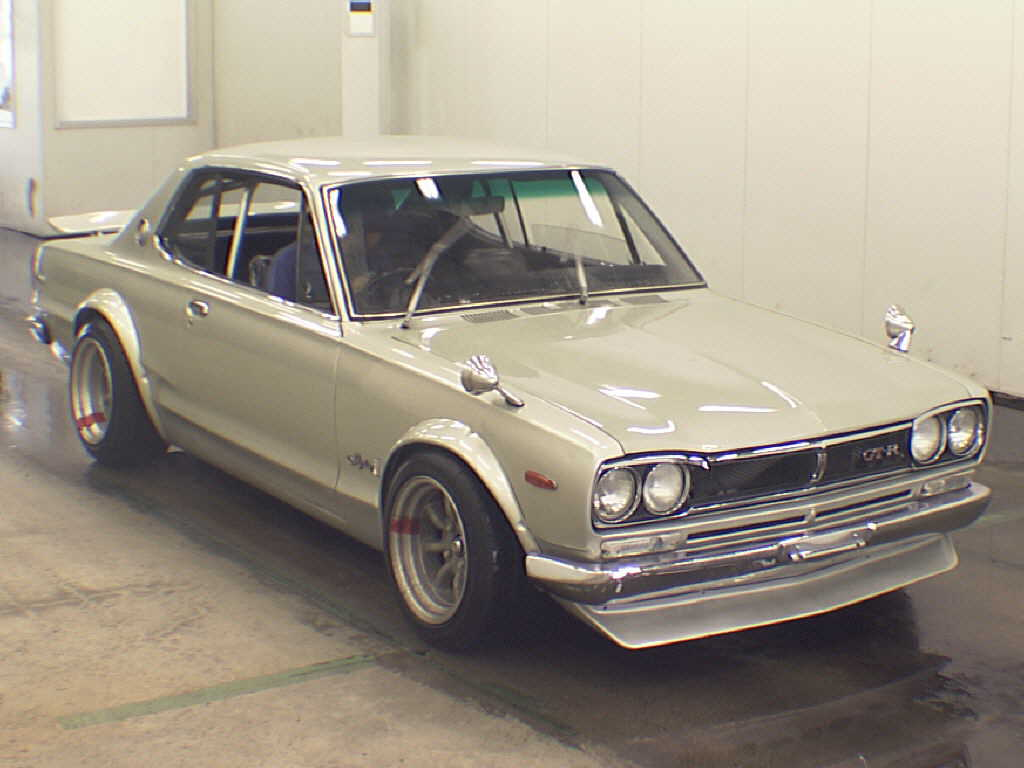 1971 Nissan Skyline KPCG10 GT R Hakosuka