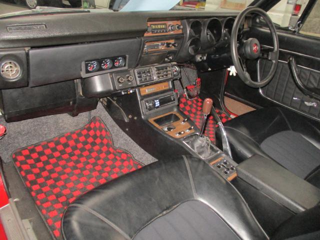 1971 Nissan Skyline KGC10 coupe GT-X auction interior