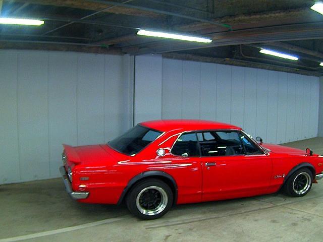 1971 Nissan Skyline KGC10 coupe GT-X auction side
