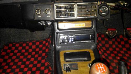1971 Nissan Skyline KGC10 coupe GT-X centre console
