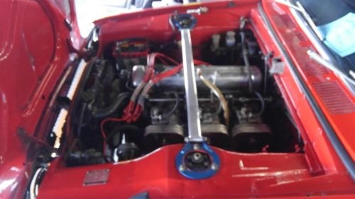 1971 Nissan Skyline KGC10 coupe GT-X engine bay 2