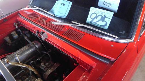 1971 Nissan Skyline KGC10 coupe GT-X engine bay 4