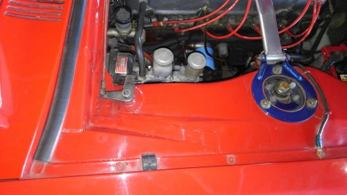 1971 Nissan Skyline KGC10 coupe GT-X engine bay rust 2