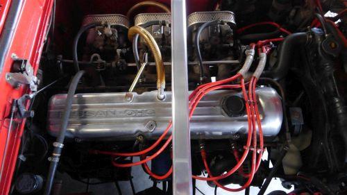1971 Nissan Skyline KGC10 coupe GT-X engine