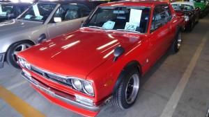 1971 Nissan Skyline KGC10 coupe GT-X front