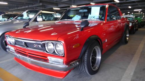 1971 Nissan Skyline KGC10 coupe GT-X front low