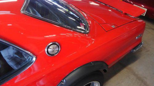 1971 Nissan Skyline KGC10 coupe GT-X fuel filler cap