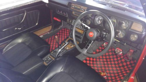 1971 Nissan Skyline KGC10 coupe GT-X interior
