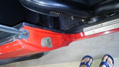 1971 Nissan Skyline KGC10 coupe GT-X left door b pillar