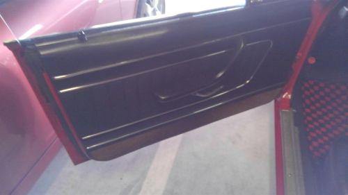1971 Nissan Skyline KGC10 coupe GT-X left door card