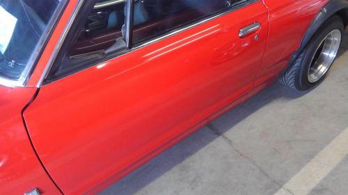 1971 Nissan Skyline KGC10 coupe GT-X left door