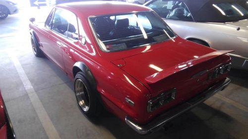1971 Nissan Skyline KGC10 coupe GT-X left rear