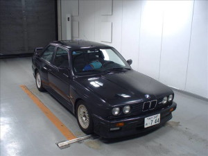 1987 BMW M3 import black front