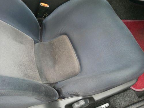 1992 Nissan Skyline R32 GTR silver driver seat closeup