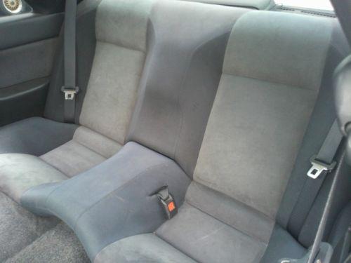 1992 Nissan Skyline R32 GTR silver rear seat