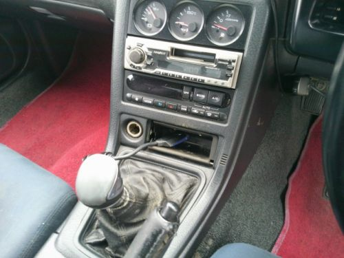 1992 Nissan Skyline R32 GTR silver shift knob