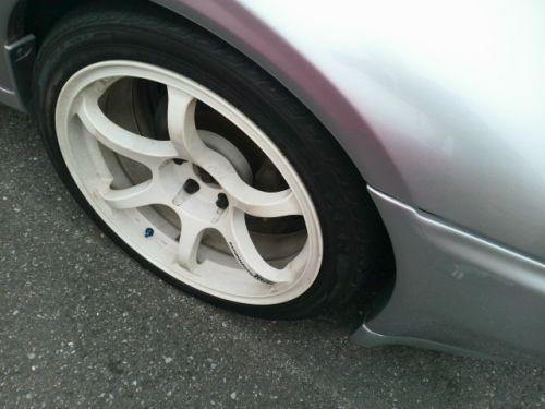 1992 Nissan Skyline R32 GTR silver wheel