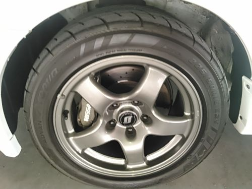 1994 Nissan Skyline R32 GT-R factory wheel 3