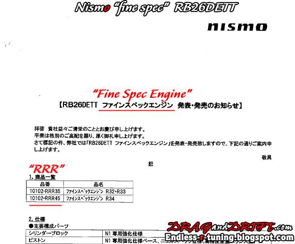 2009 Fine-Spec-engine-nismo-data