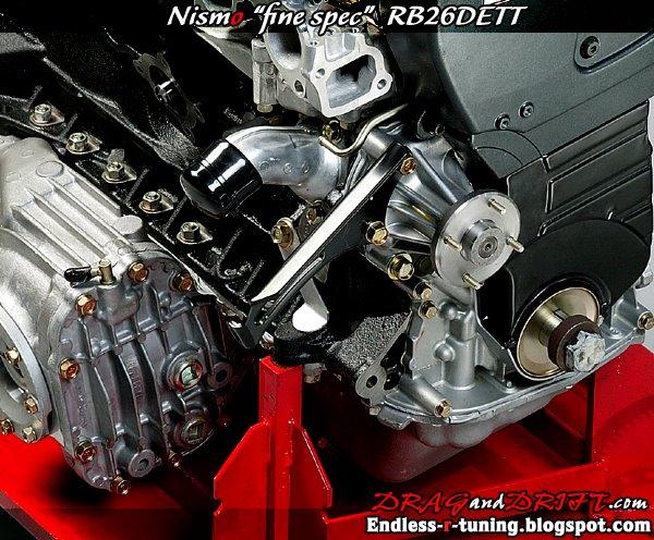2009 nismo fine spec engine 2